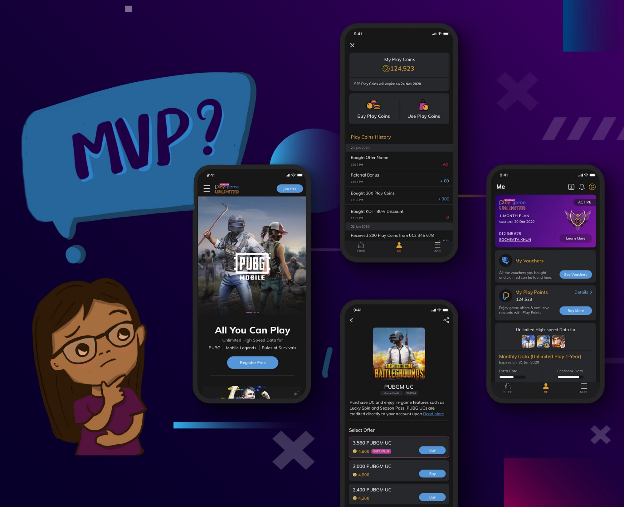 Should we do MVP? A designer perspective on MVP—Minimum Viable Product with case study: a Progressive Web App design for Telco.
