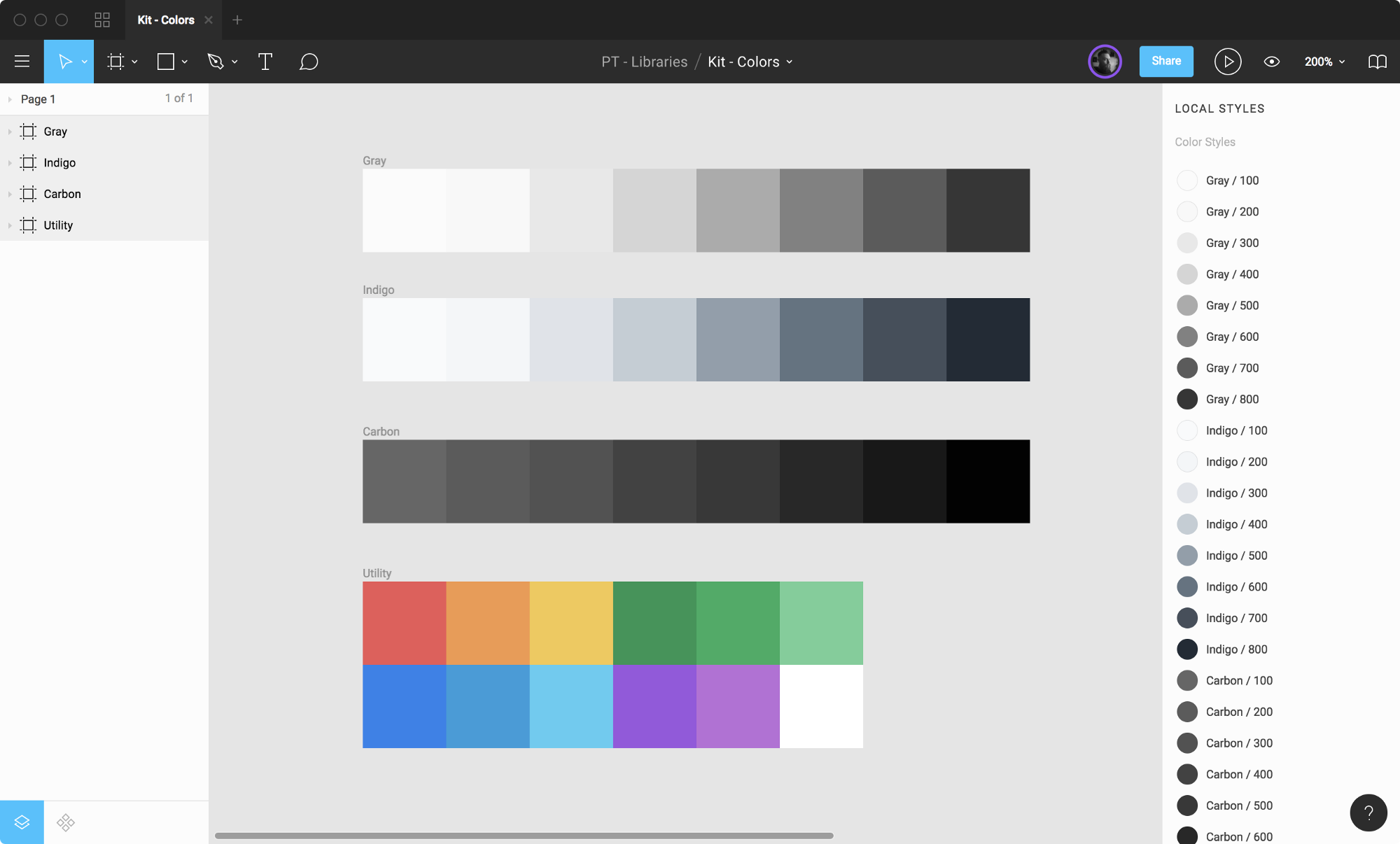 Figma: Colors & Styles 🌈 - Paper Tiger Insights