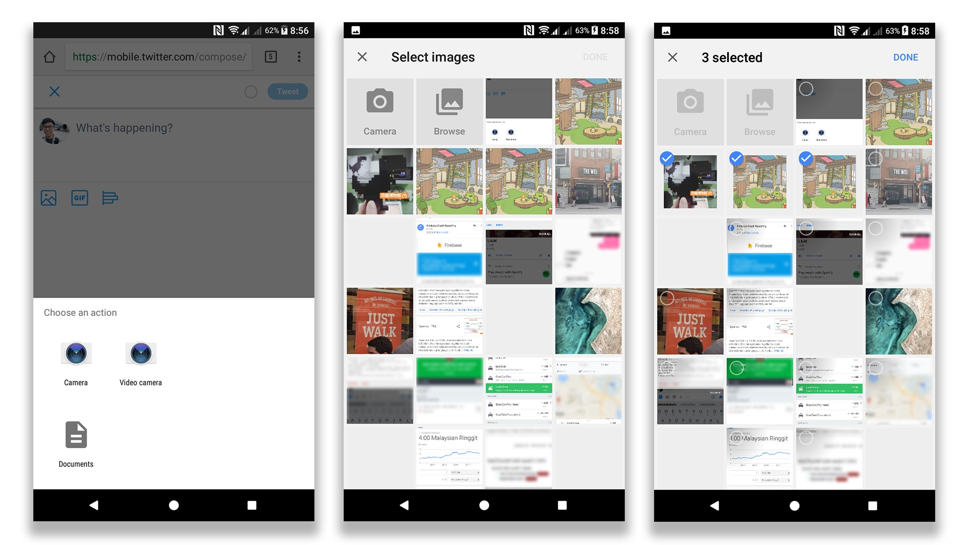 New Photo Picker in Chrome 64 Beta - Henry Lim - Medium