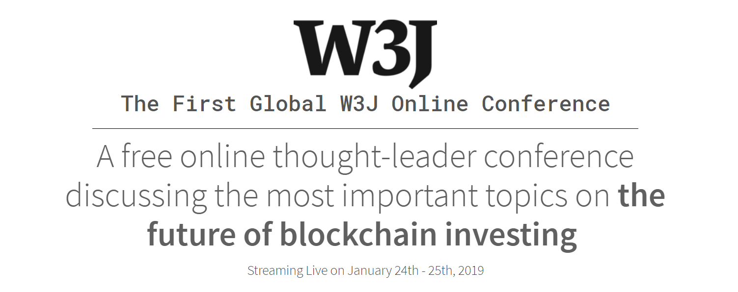 Industry Insiders Organize the First Web Conference — Blockchain
