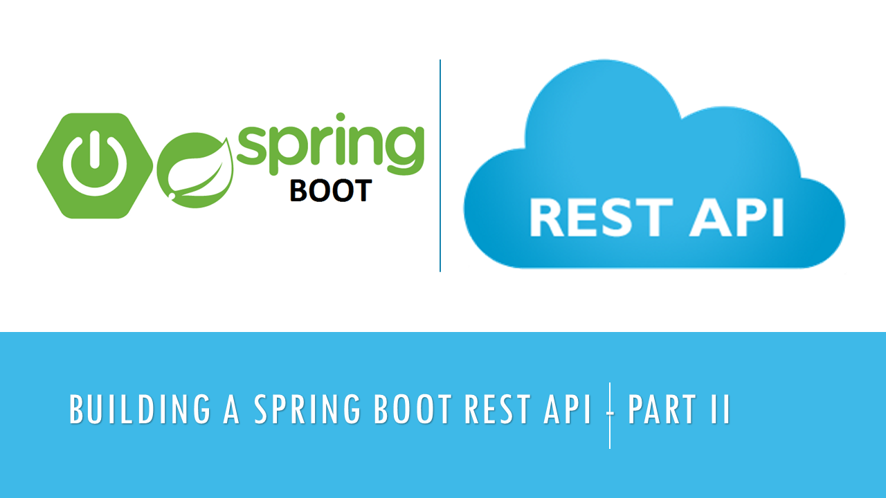 Building a Spring Boot REST API — Part II: Working with Controllers