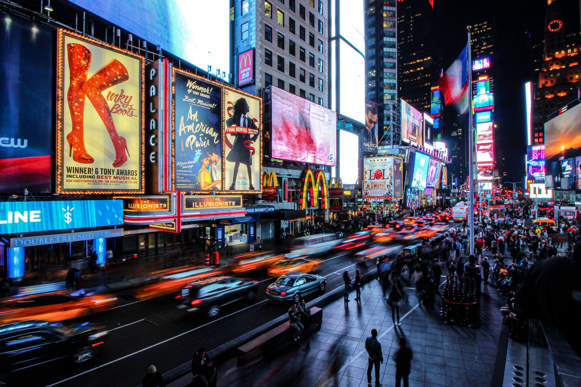 6 Powerful Ways to Become Limitless in Real Life—long-exposure view of Times Square traffic