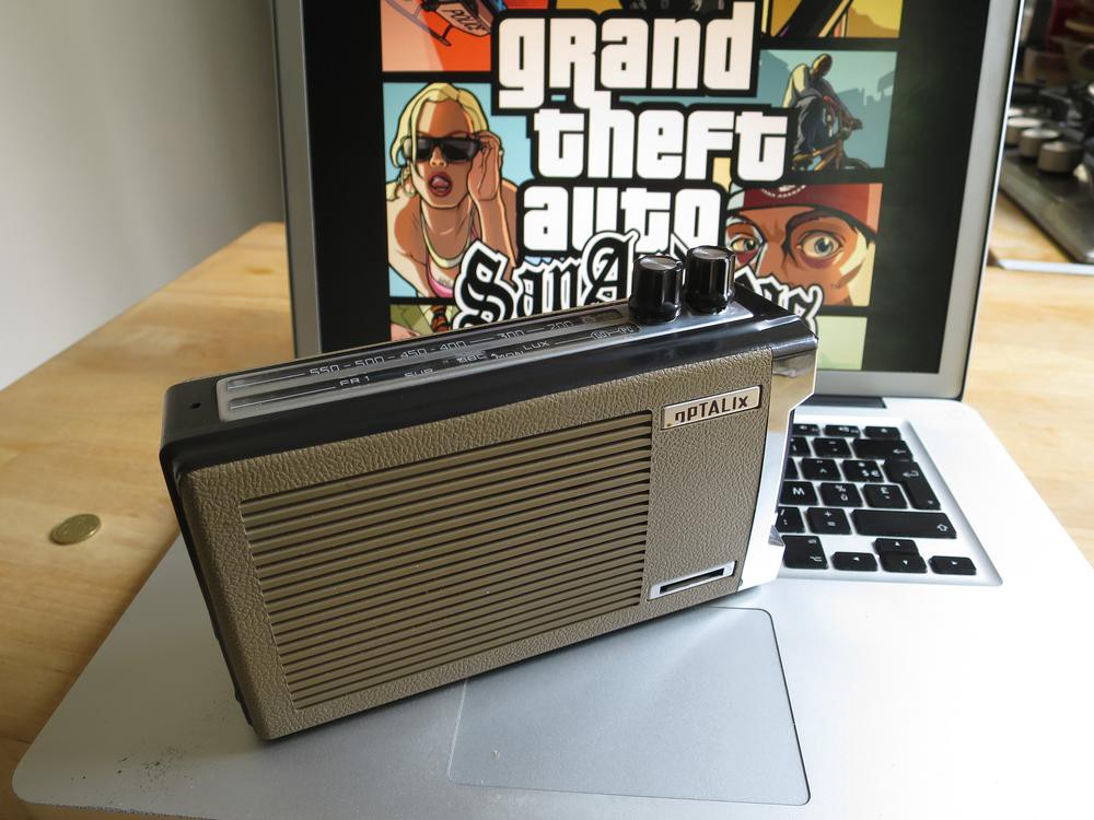 This Radio Exclusively Plays Grand Theft Auto Stations