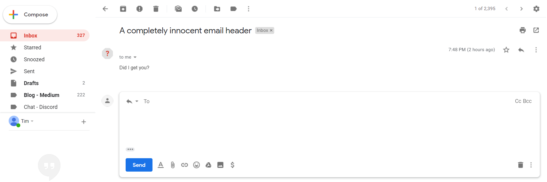Ghost Emails: Hacking Gmail's UX to Hide the Sender