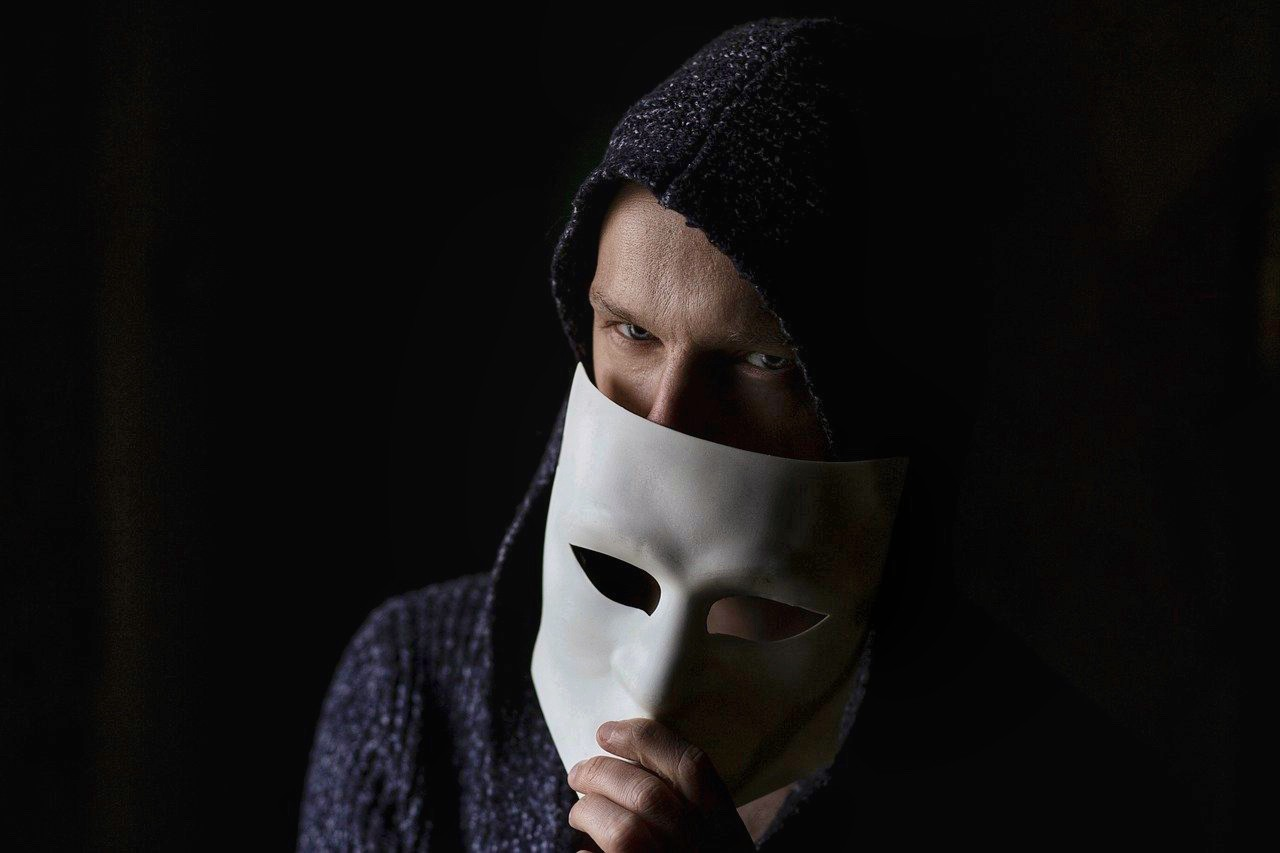 Fraud with a mask.