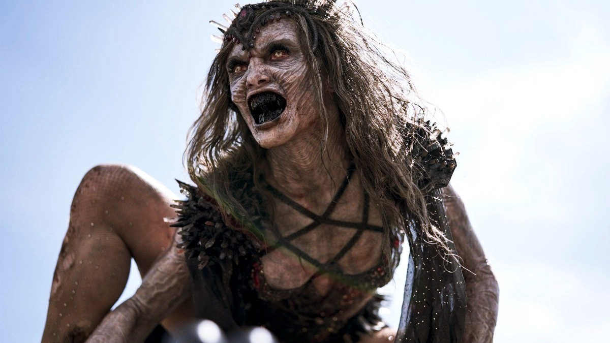 Zombie Queen in the Netflix movie, Army of the Dead.