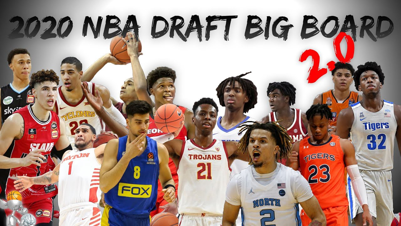 The 2020 NBA Draft is here! Let's run down the whole big board, with LaMelo Ball and Anthony Edwards at the top of the list…
