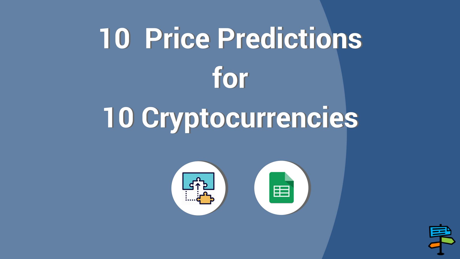 10 Statistical Price Predictions for 10 Cryptocurrencies