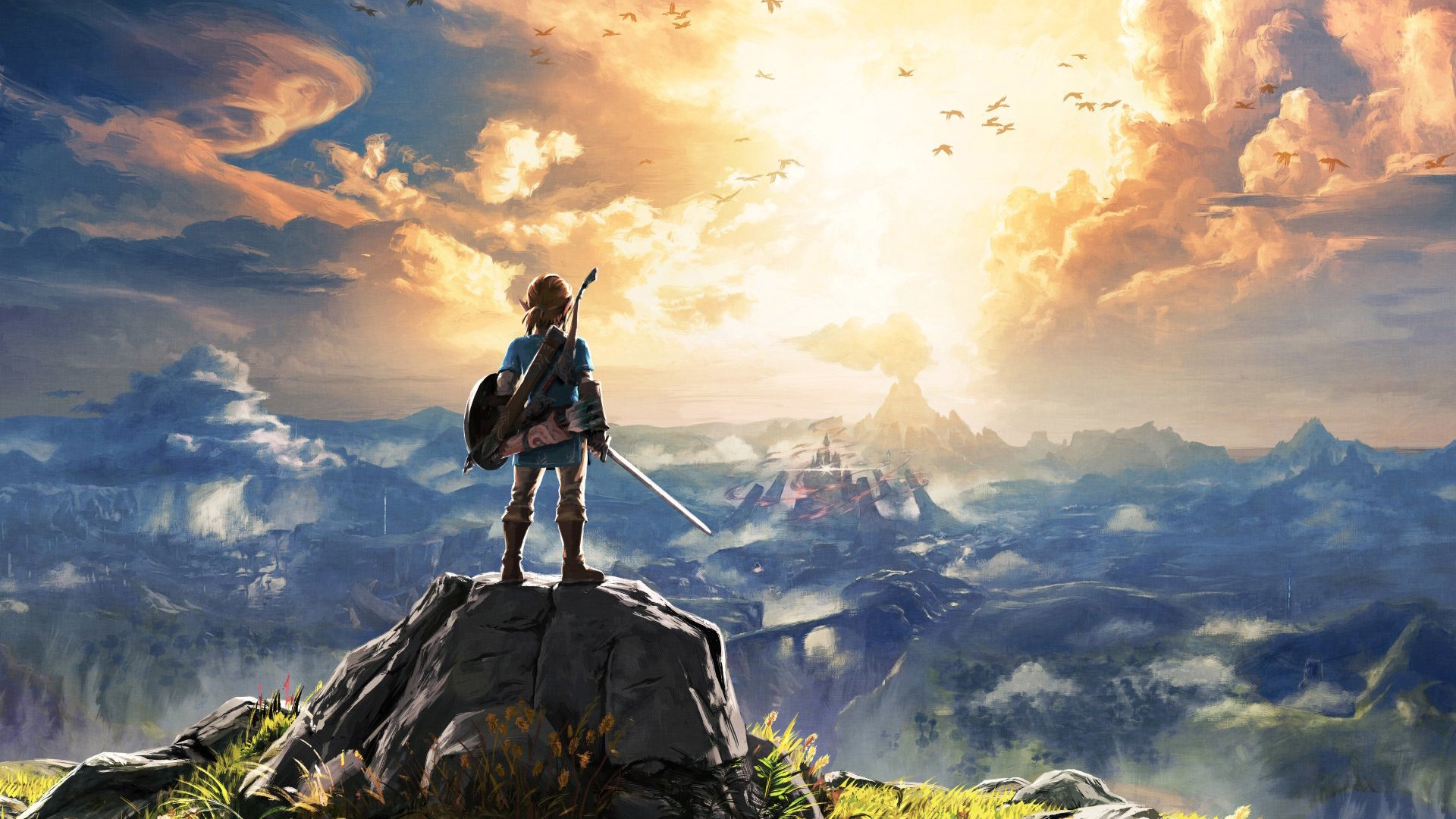 Promotional Art for Breath of the Wild