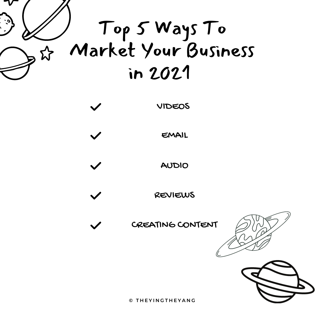 Top 5 Ways to Market Your Brand in 2021