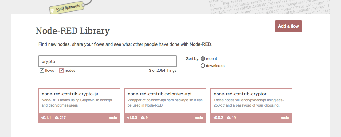 Contribute to Open-Source with Crypto-Currency for Node-RED