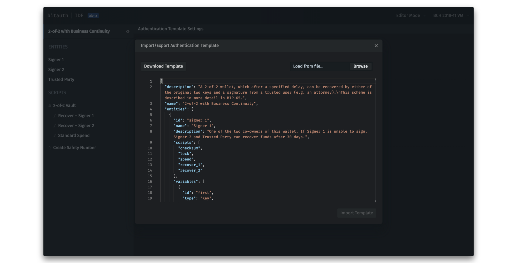 Just released: BitAuth IDE — Write and Debug Custom Bitcoin Scripts