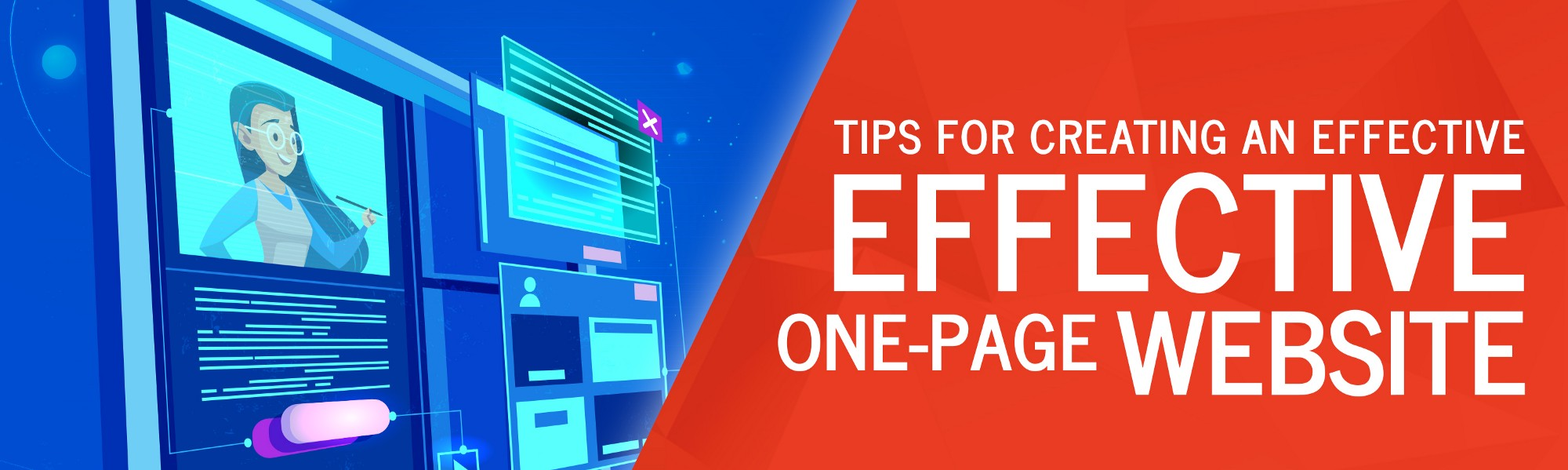 Tips for Creating an Effective One-Page Website