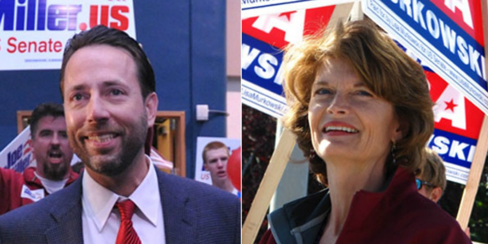Lisa Murkowski vs. Joe Miller
