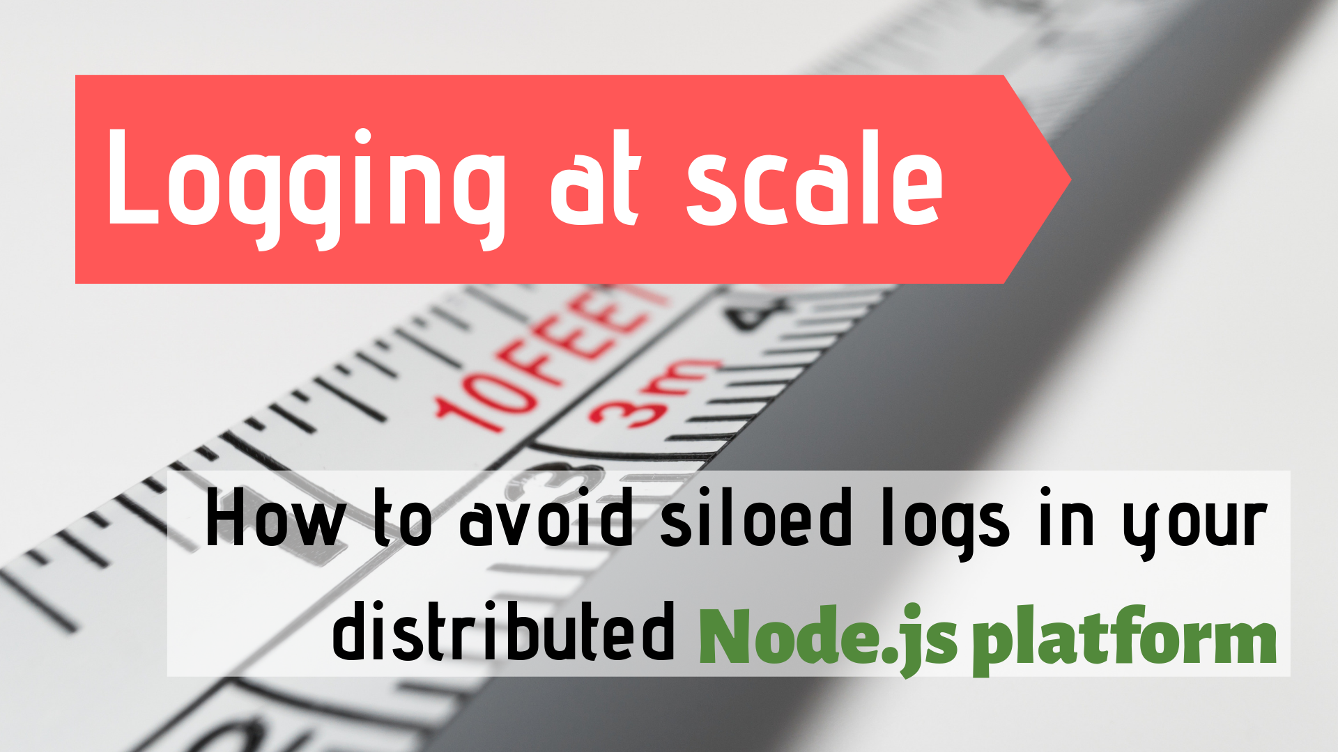 Logging at Scale Done Right - Bits and Pieces