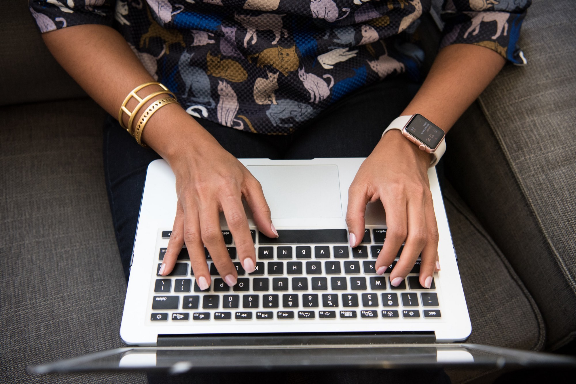Hands typing on a laptop. Photo by Christina @ wocintechchat.com on Unsplash.