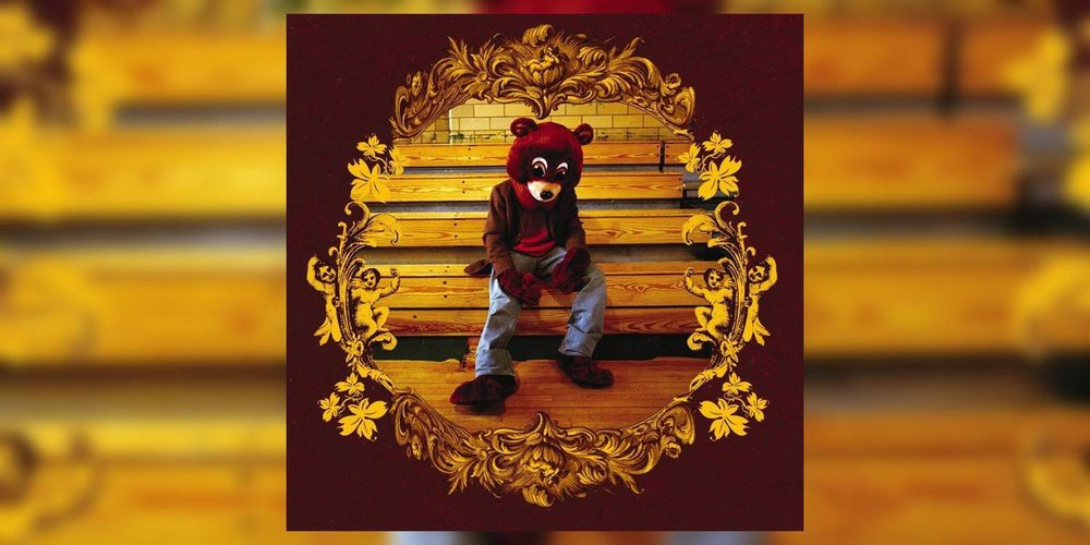 "Kanye West's ""The College Dropout"" Album Cover"