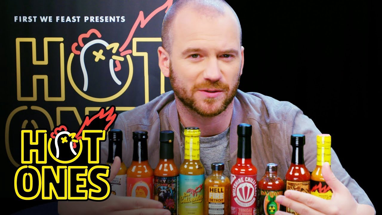 Hot Ones: A Relatable Interview Show - DST 3880W // Summer 2019 - Medium
