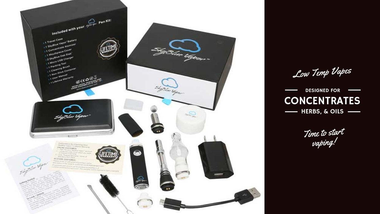 How can you get the best vaping experience with low temp vape pen?