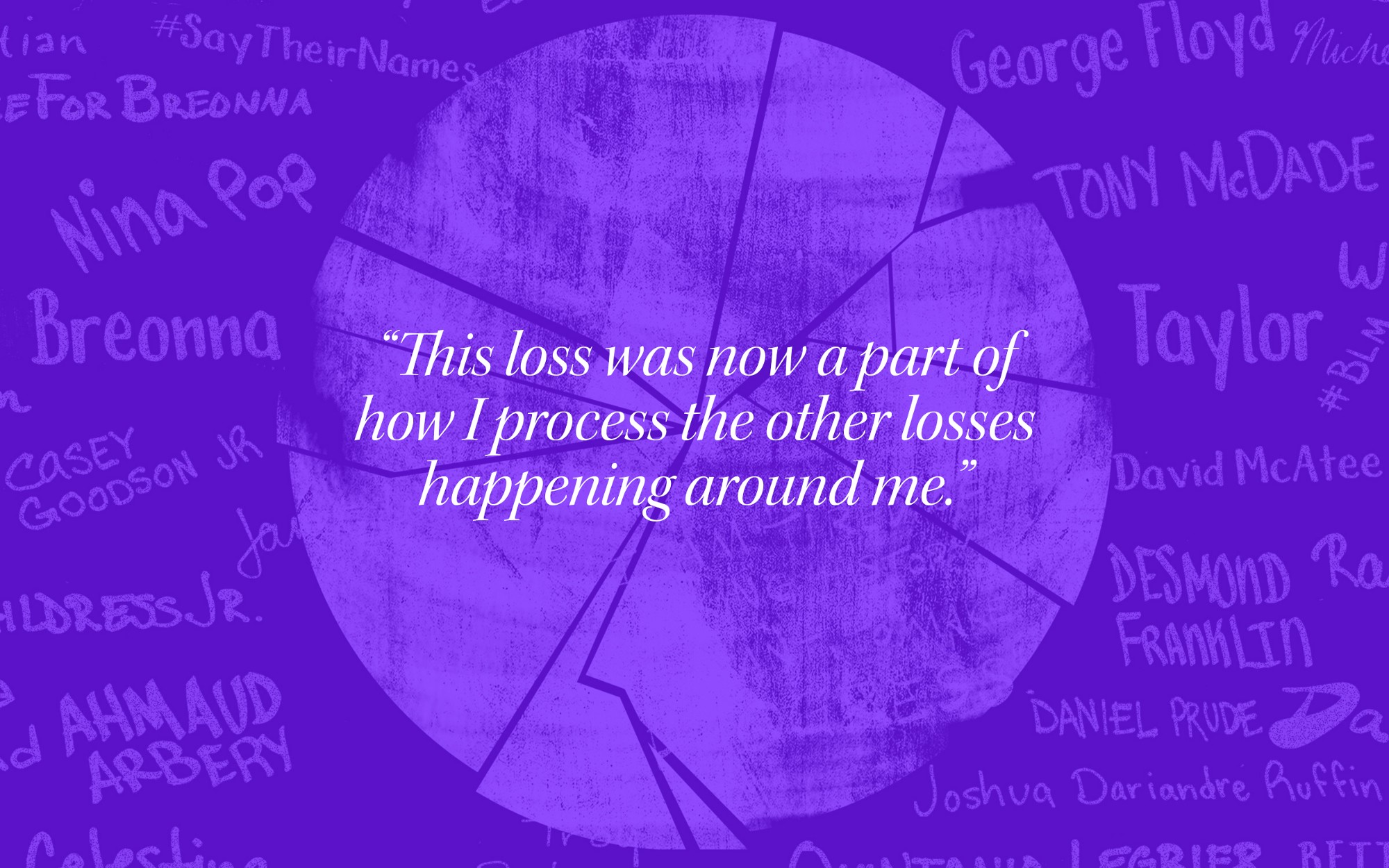 """""""This loss was now a part of how I process the other losses happening around me."""""""