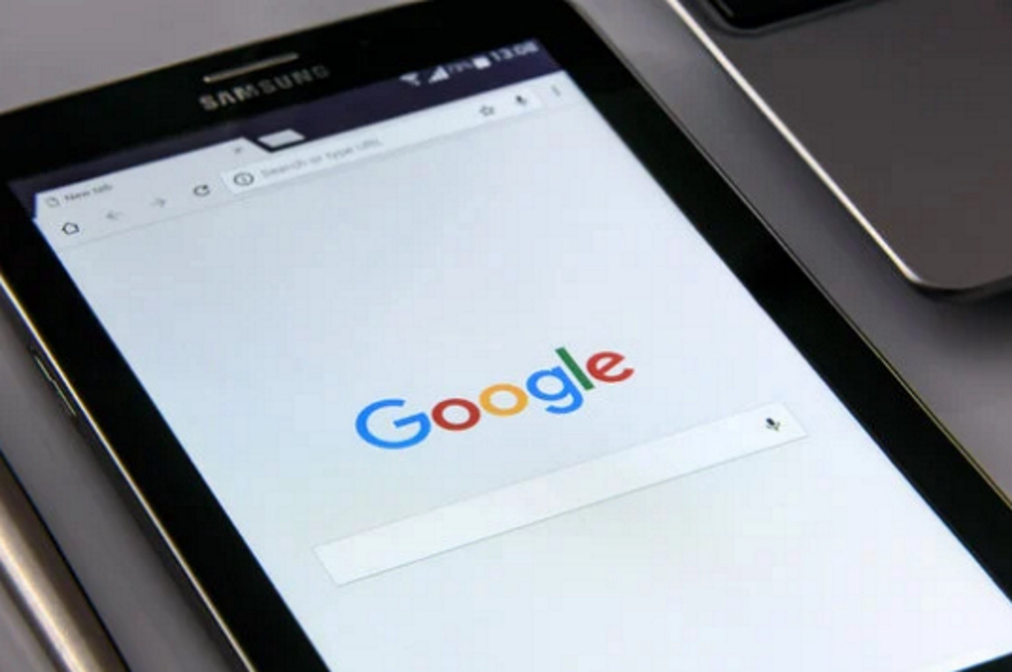 Google browser on phone