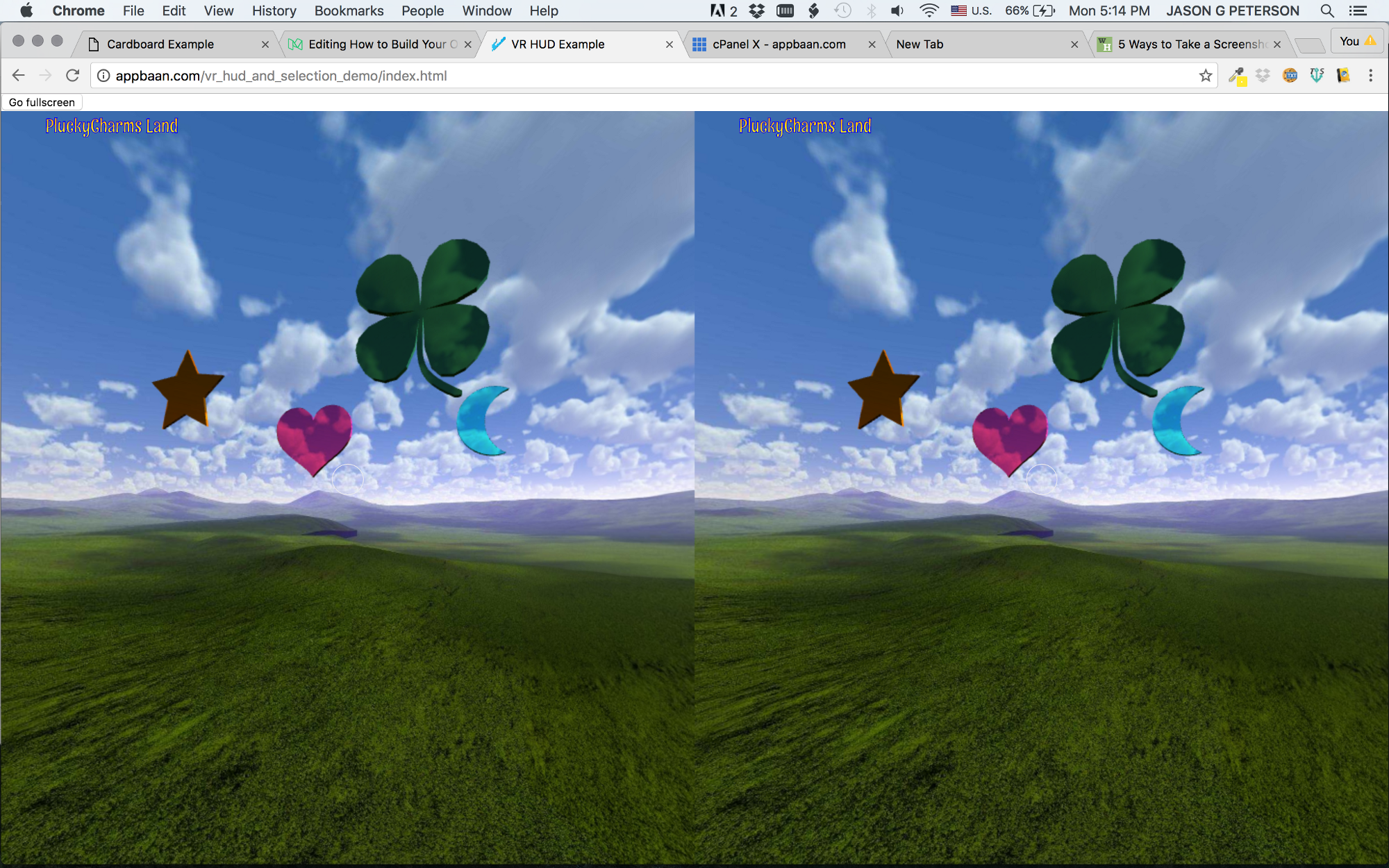 How to Start Building Your Own WebGL-Based VR App - Adventures in