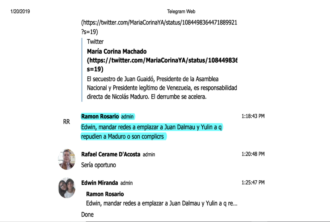 From Telegram to Twitter: Top Puerto Rican Officials Plotted
