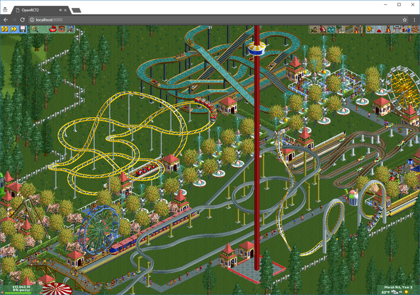 How to browserize RollerCoaster Tycoon? - Johannes Bader - Medium