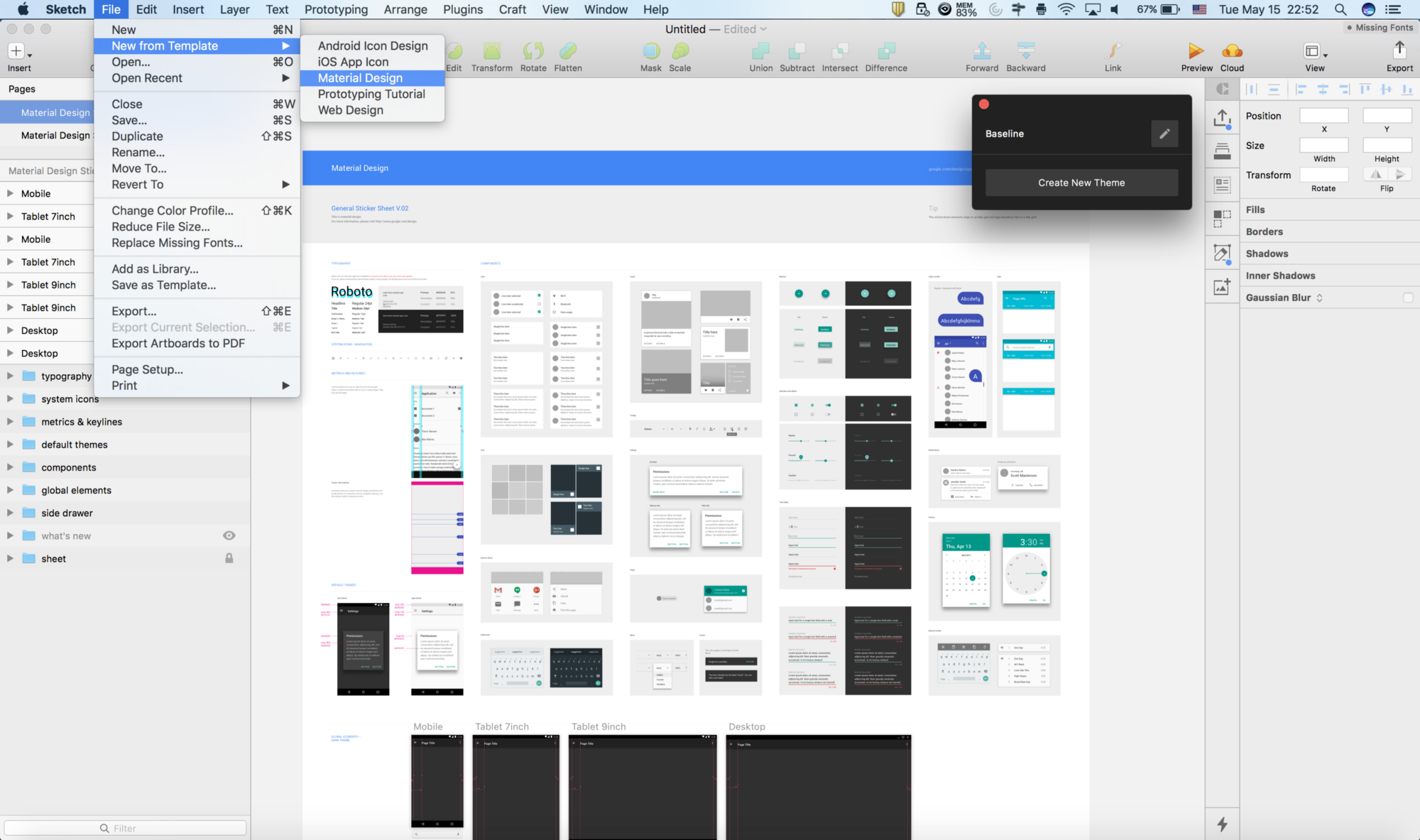 Google I/O '18 — Material Theming in a Nutshell - Prototypr