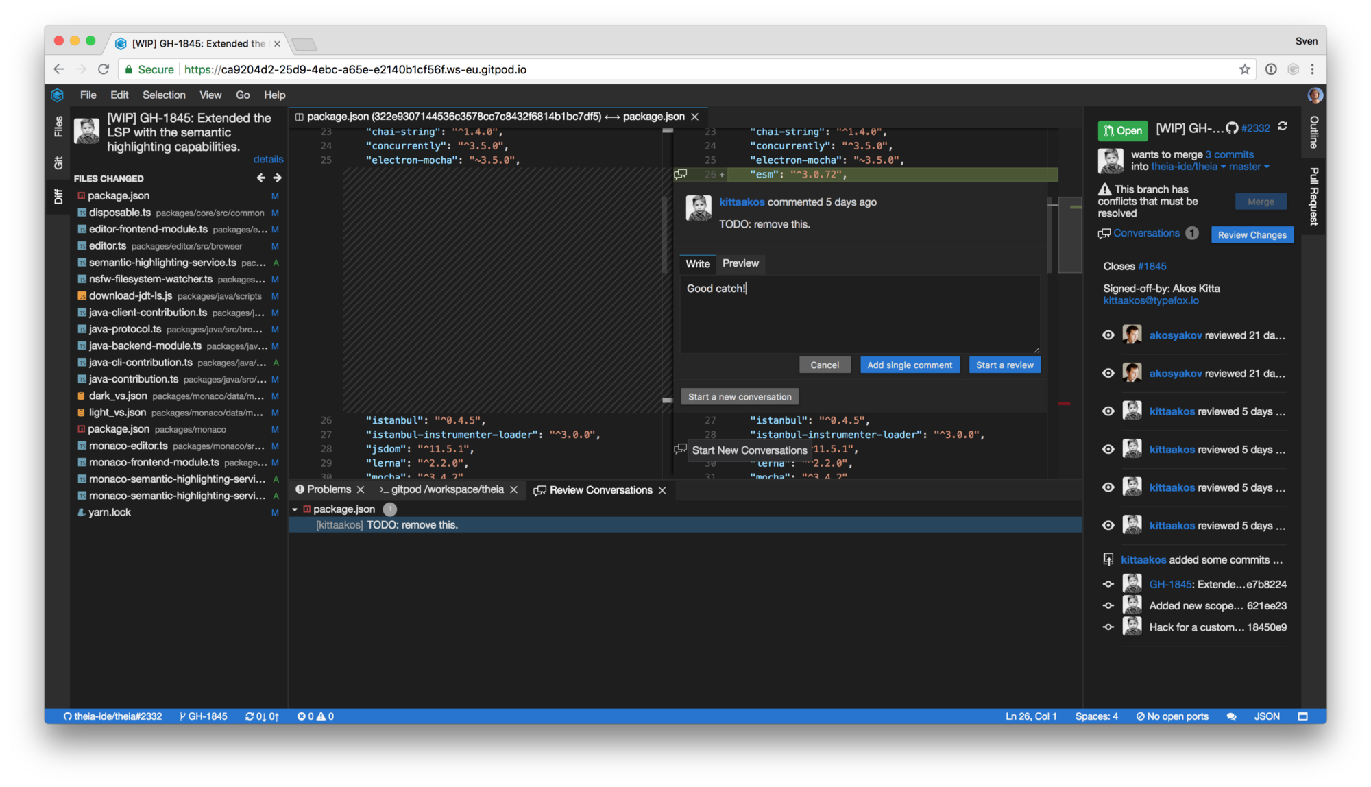Gitpod — Online IDE For GitHub - Gitpod - Medium