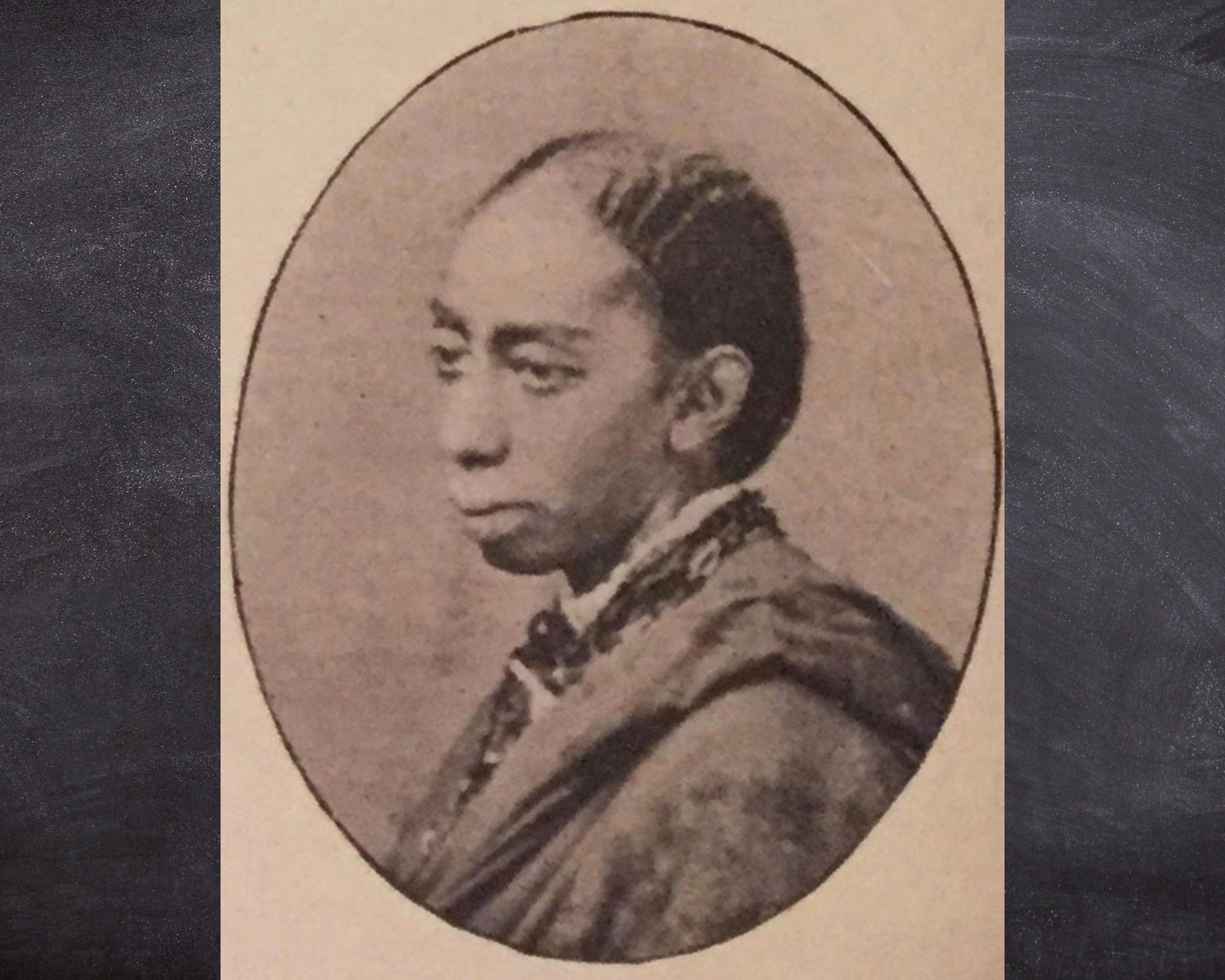 Sepia toned photograph of Eliza Ann Gardner, courtesy National Parks Service