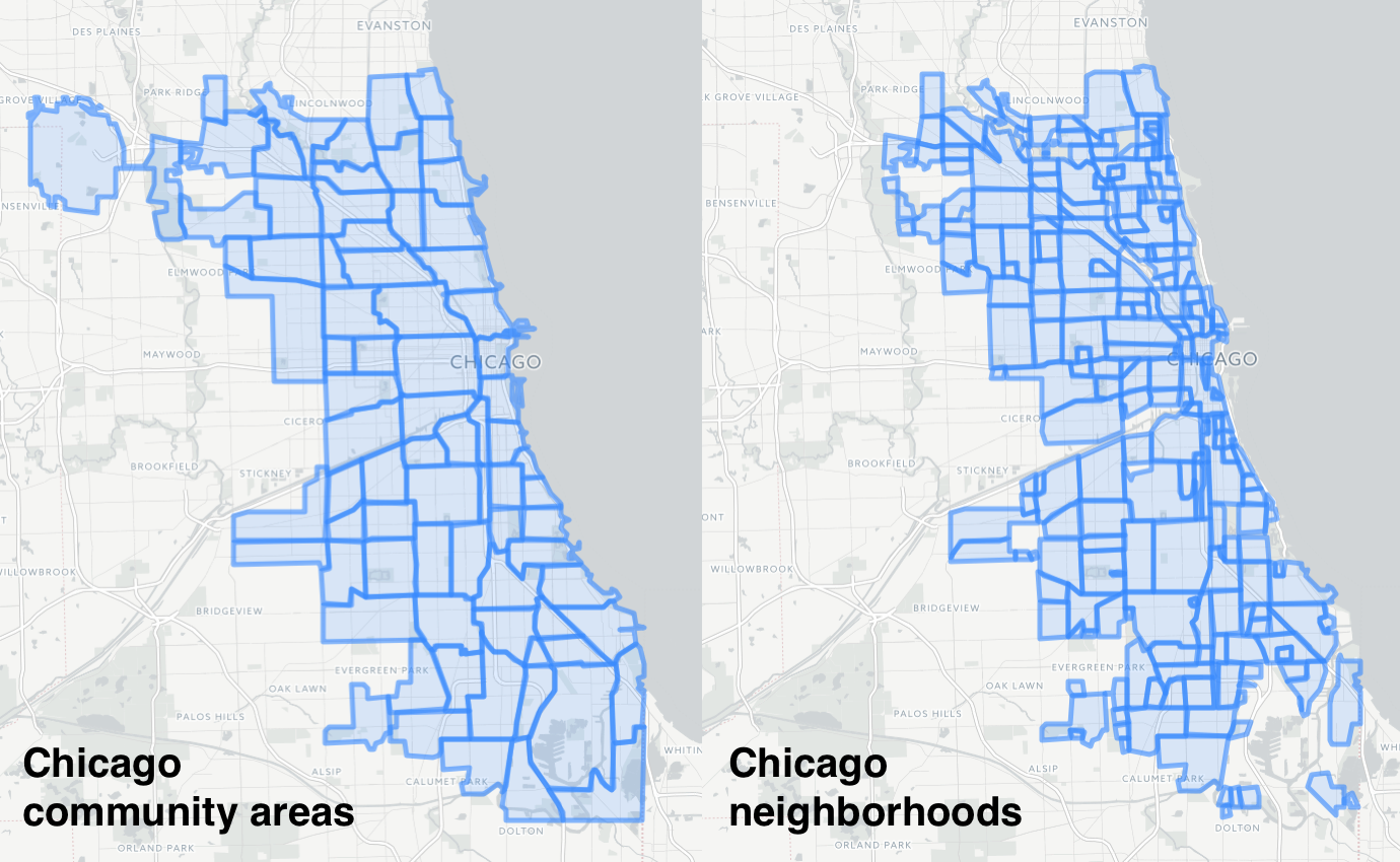 """Ask Cityscape: Where do your """"neighborhood"""" maps come from? on"""