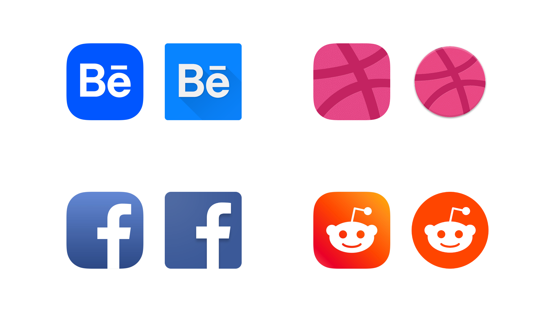 The design guide to iOS and Android app icons - Muzli - Design