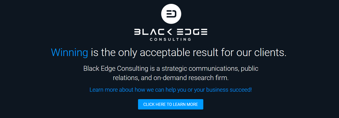 Black Edge Consulting