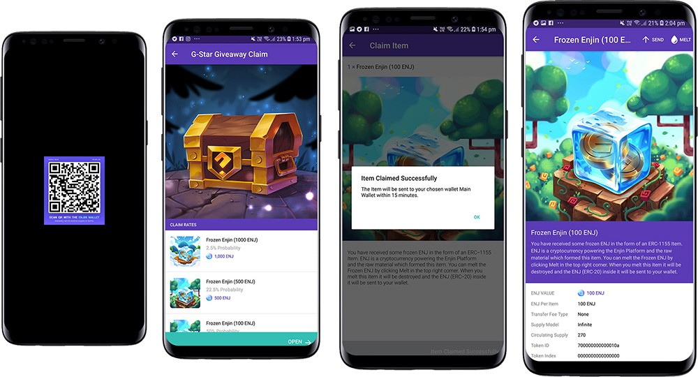 Enjin Beam: The Fastest Way to Receive Cryptocurrencies