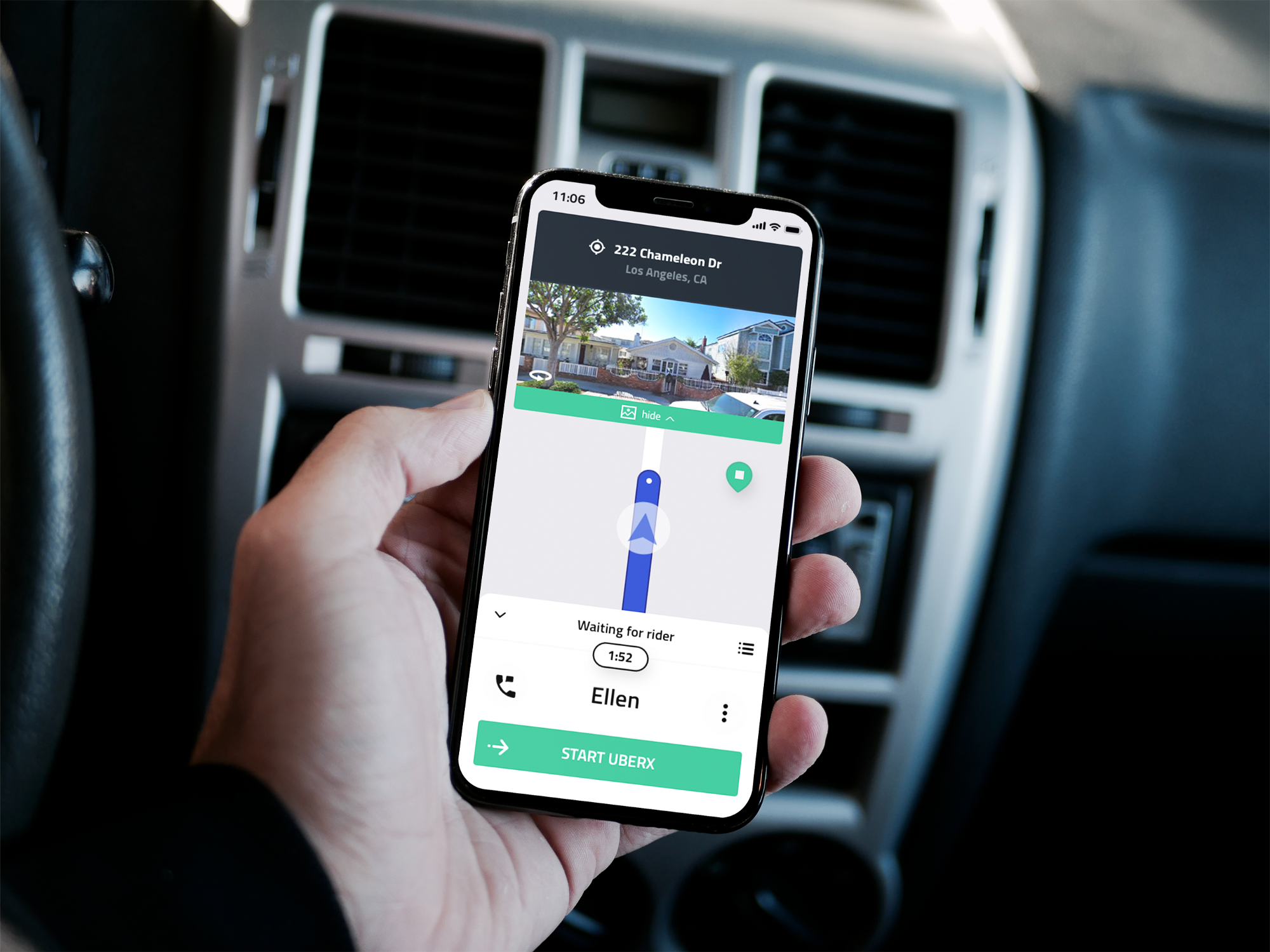 Context Through Imagery: Redesigning the Uber Driver Navigation