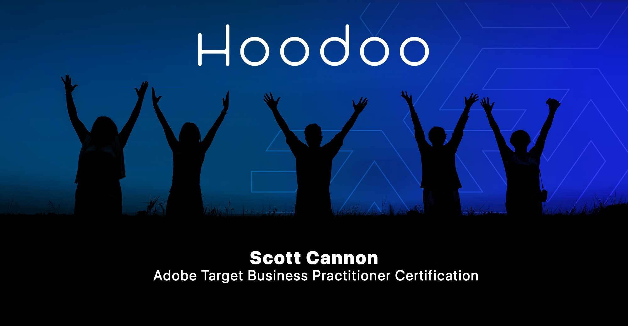 Scott Cannon Completes Adobe Target Business Practitioner Certification