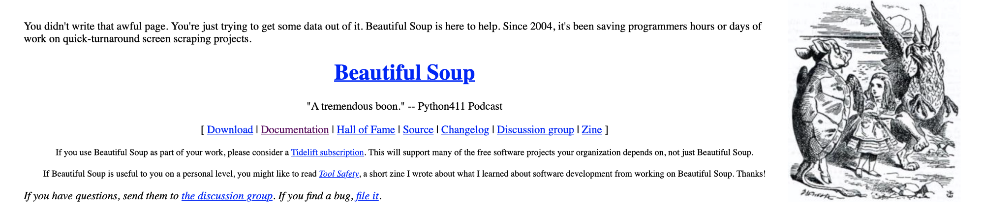 Forget APIs Do Python Scraping Using Beautiful Soup, Import Data