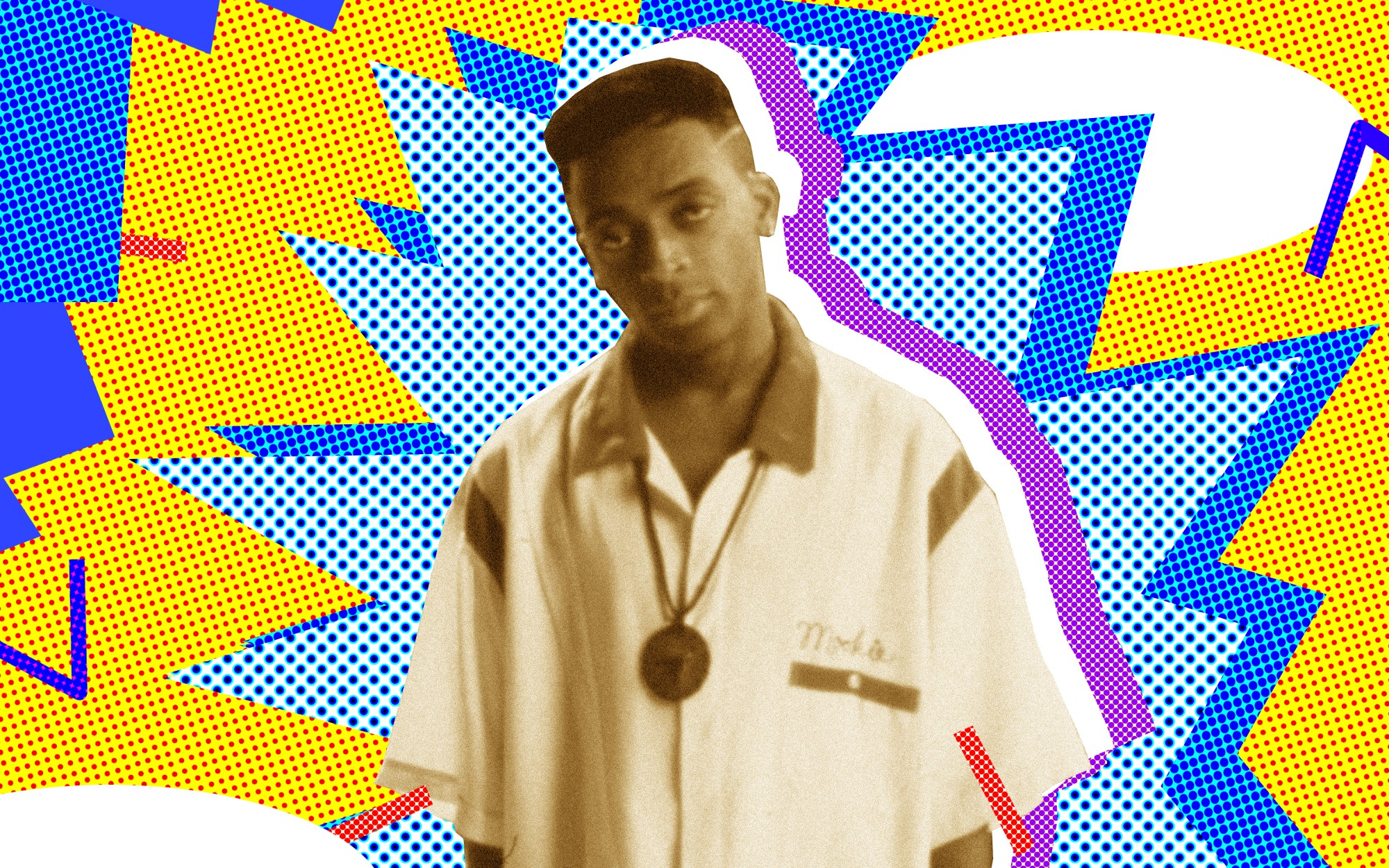 Spike Lee on the set of his film 'Do the Right Thing'