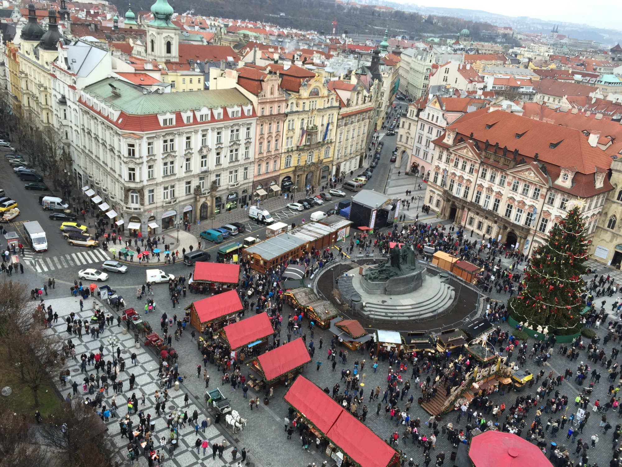 Christmas markets in the Old Town Square