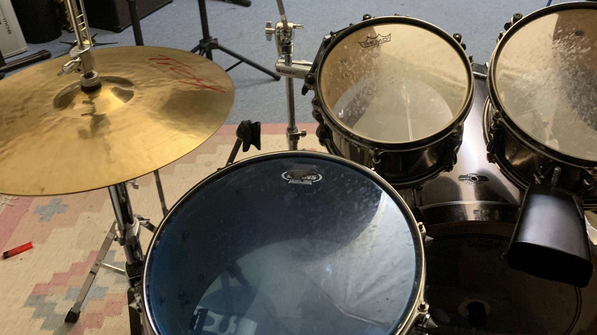 Drummer's view
