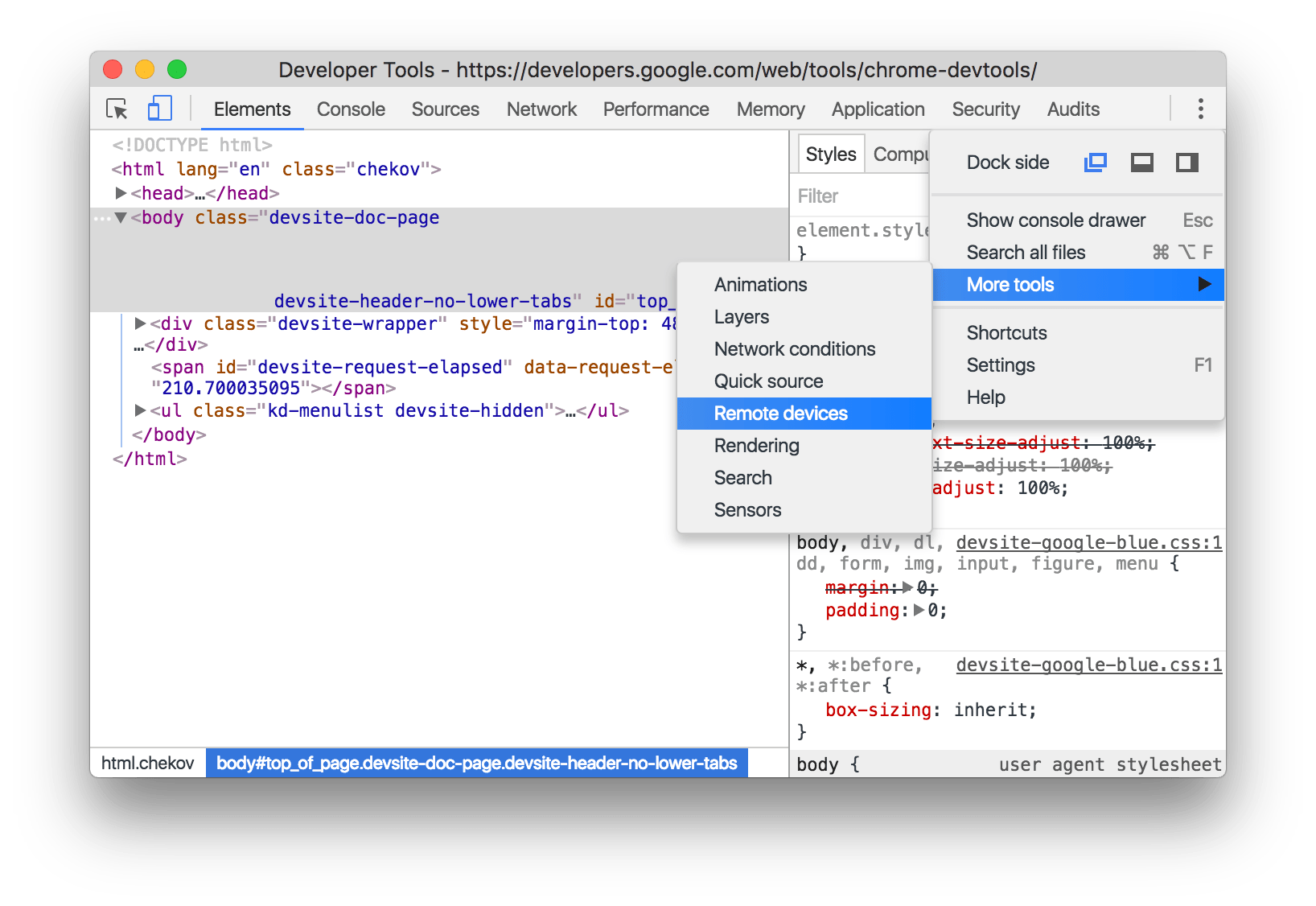 Debugging Android WebView Using Chrome Developer Tools