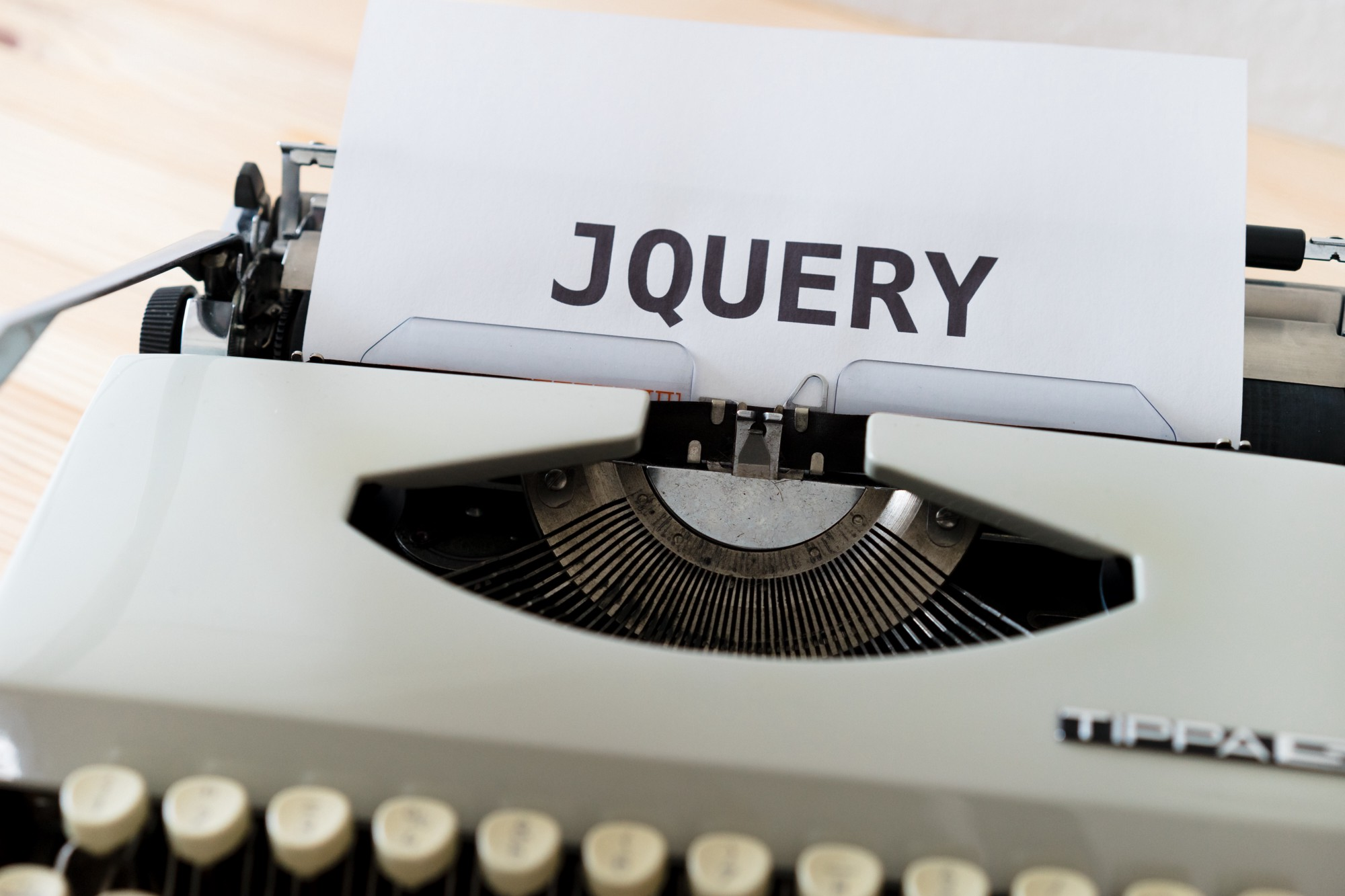 the picture is about jQuery