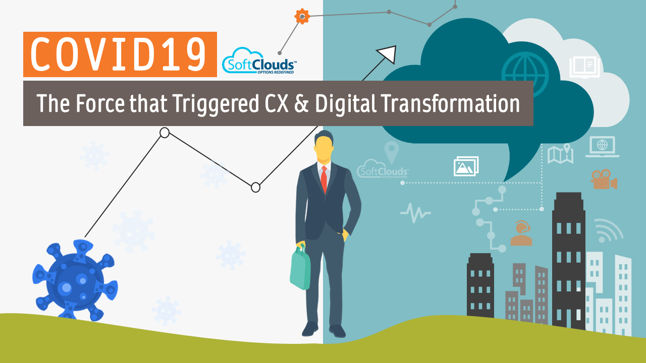 COVID19 - The Force that Triggered CX & Digital Transformation