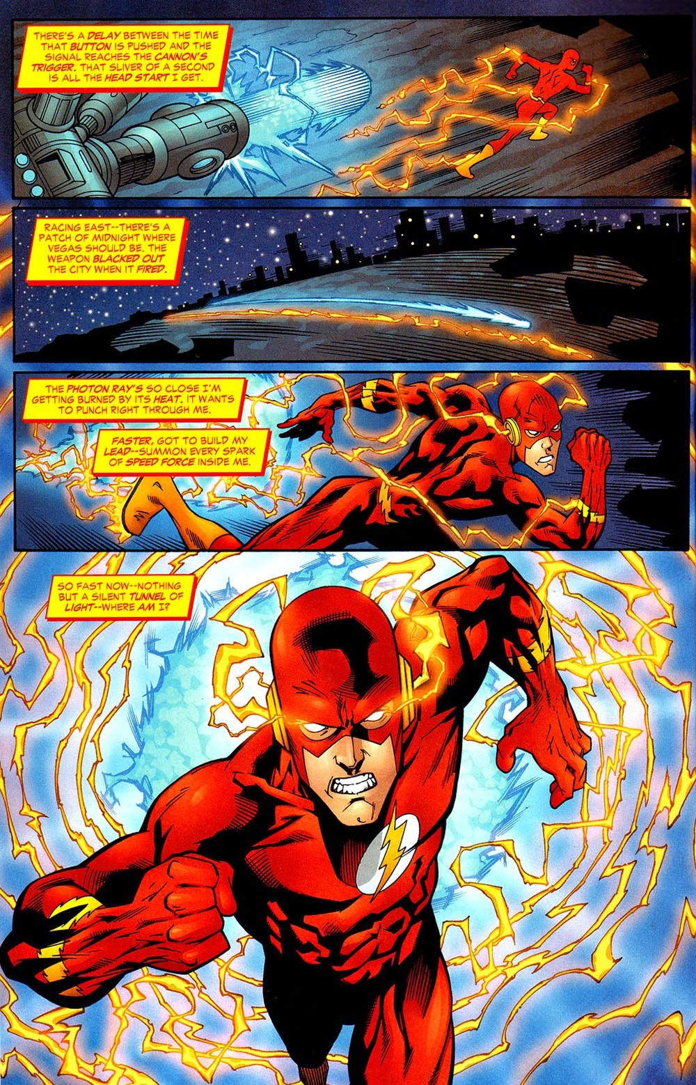 Why is the Flash much slower in his TV series than in the