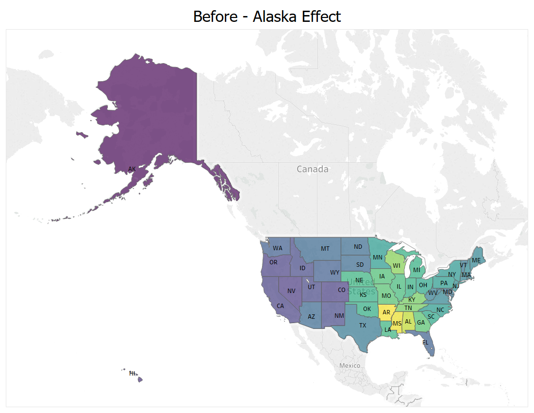 Ways to Improve a Map Visualization - Towards Data Science Data Maps on