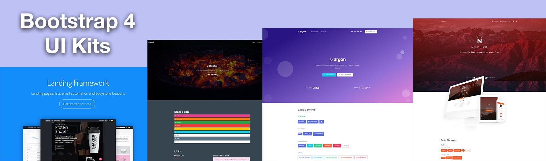 10 Best Free UI Kits Made With Bootstrap 4 - Theme Wagon - Medium