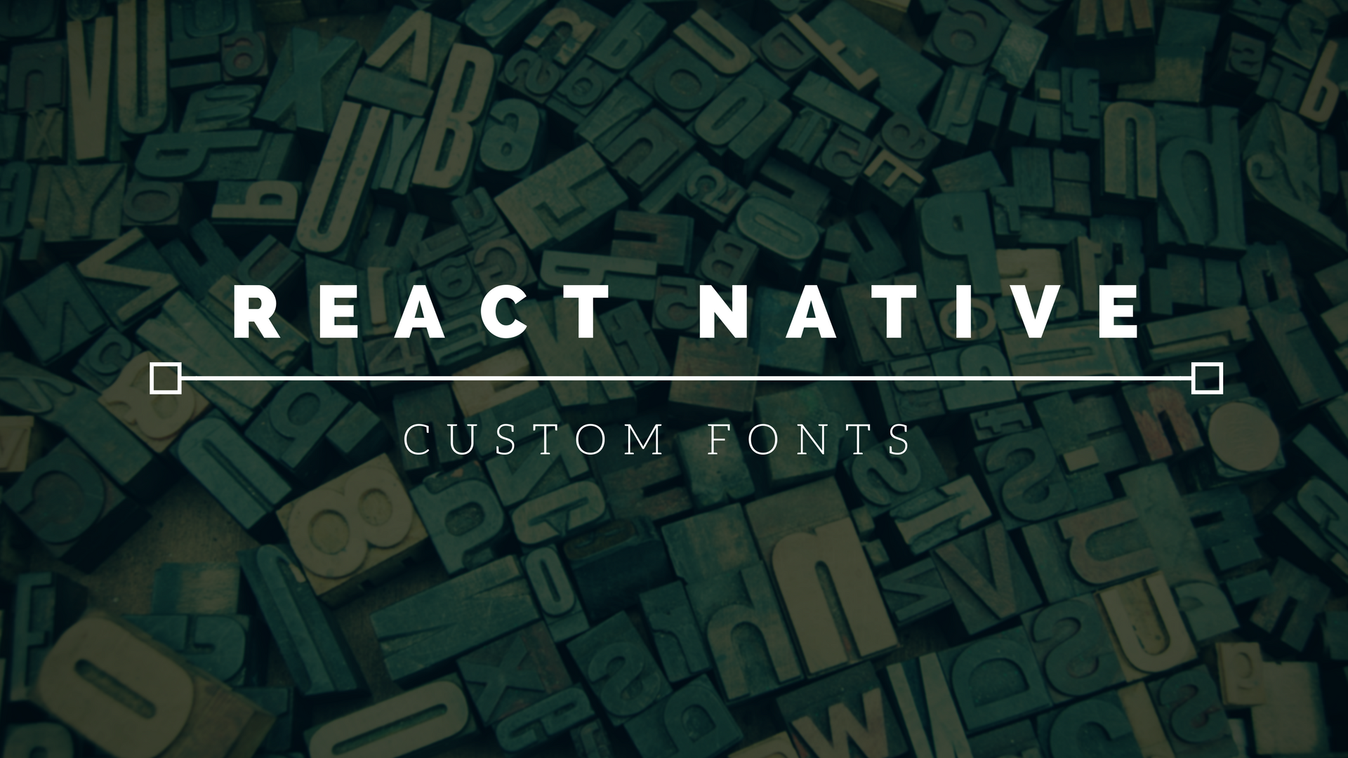 Easiest Way to Load Your Custom Fonts in React Native
