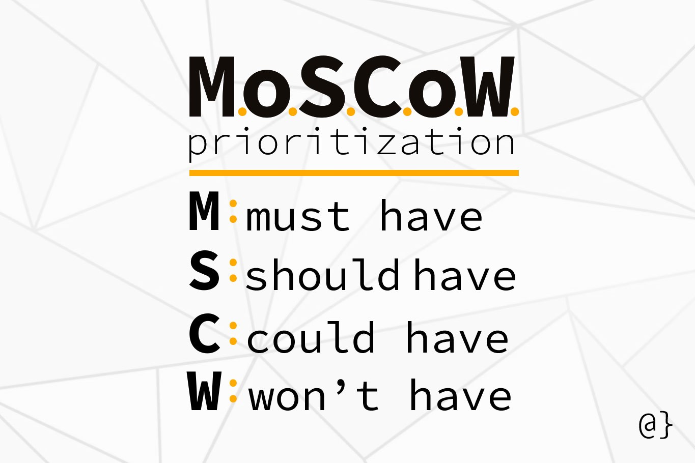 moscow prioritization steps