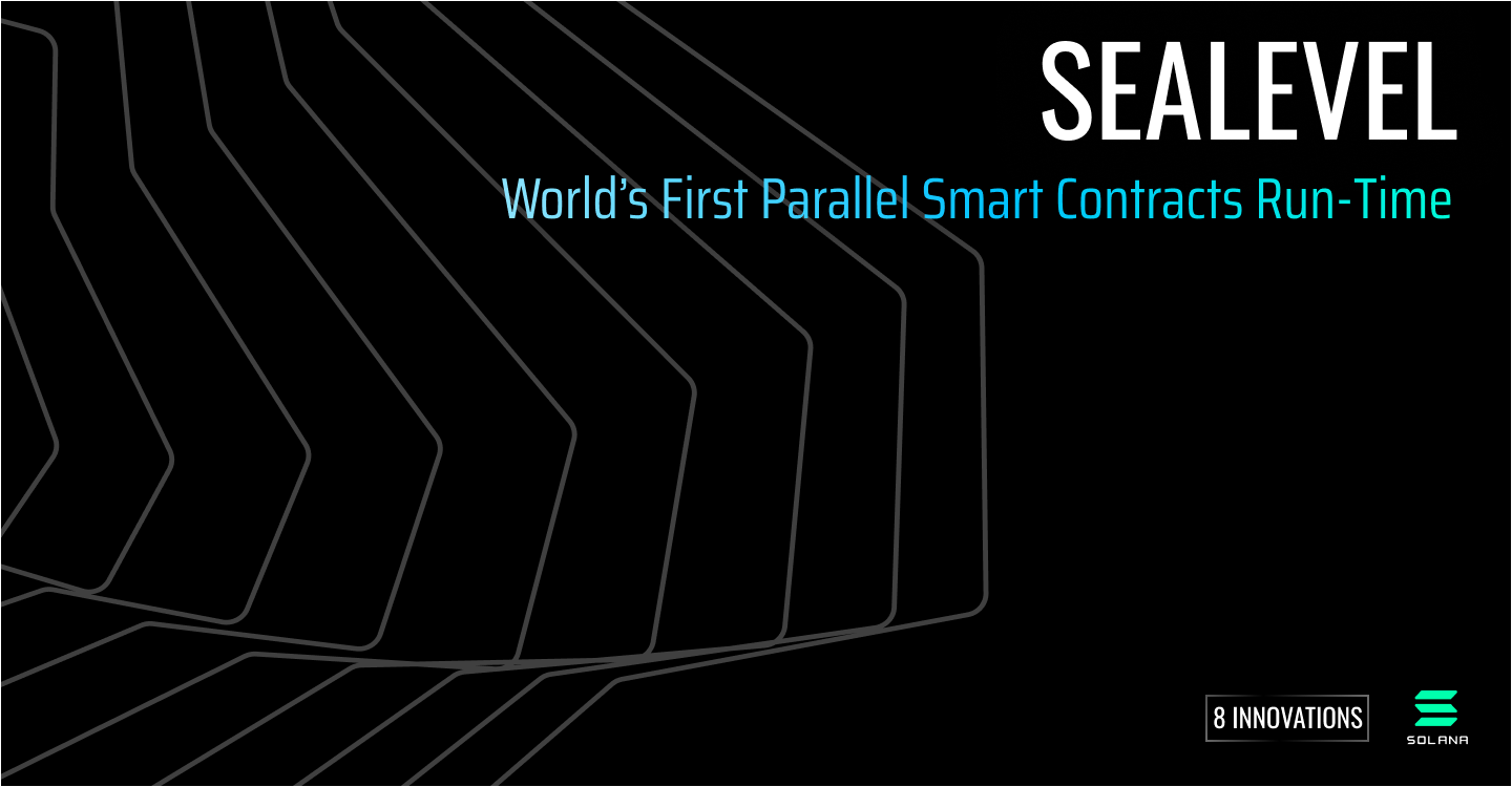 Sealevel — Parallel Processing Thousands of Smart Contracts | by Anatoly Yakovenko | Solana | Medium